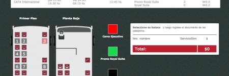 Sistema Venta de Pasajes Online