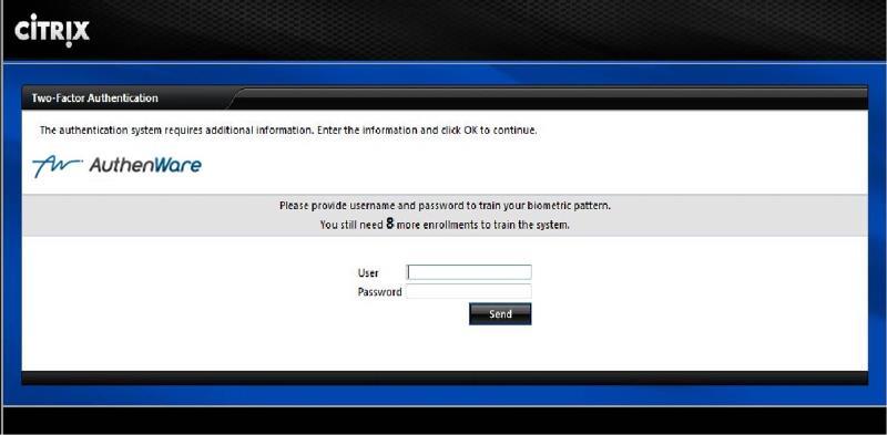 Image 3 - Quick Training Screen